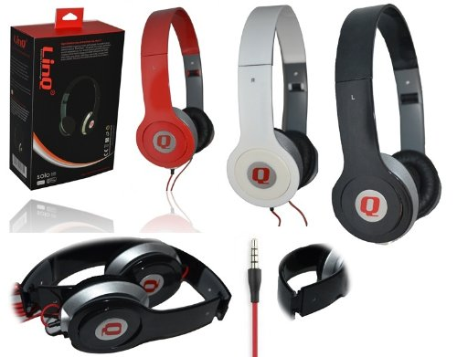 Cuffie Per DJ MIX Style IPOD MP3 SPORT Linq 02M Vari Colori