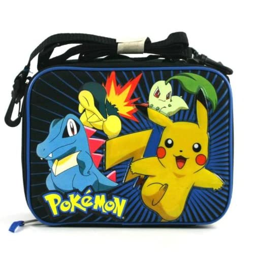 Amazon.com : Pokemon Pikachu Lunchbox Lunchbag Lunch Tote Bag : Other