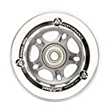 K2 84mm 80A Inline Skate Wheels with ILQ7 Bearings - 8 Pack 2014