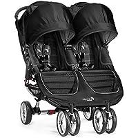 Baby Jogger 2016 City Mini Double Stroller (Black/Gray)