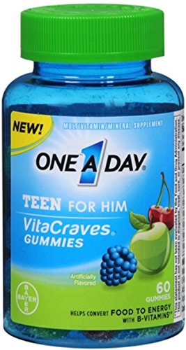 one-a-day-vitacraves-teen-for-him-gummies-assorted-60-ea-pack-of-2
