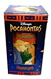 DISNEY'S POCAHONTAS POCAHONTAS & JOHN SMITH Drinking Glass Cup Collectable Colors of The Wind Collection