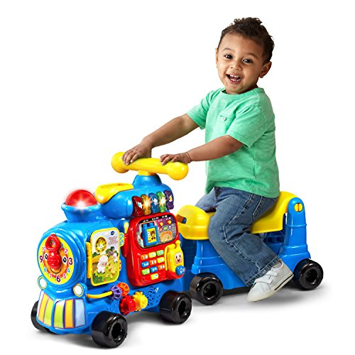 <b>VTech Sit-to-Stand Ultimate Alphabet Train - Blue - Online Exclusive</b>