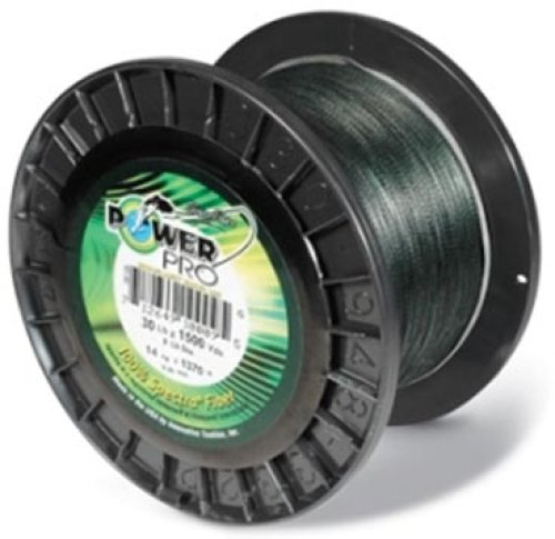 Power Pro Spectra - 3000 yd. Spool - 50 lb. - Green (Power Pro 50 compare prices)