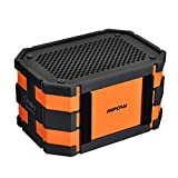 Mpow Armor Portable Wireless Bluetooth Speaker,5W Strong Drive/Passive Radiator for Water Resistant Shockproof and Dustproof Outdoor/Shower/MP3/PC Speakers with Emergency Power Supply