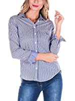 SIR RAYMOND TAILOR Camisa Mujer (Azul Marino)