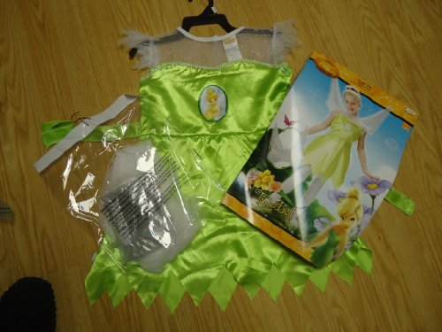 Disney's Tinker Bell Fairy Child Costume sz M 7-8 by Disguise
