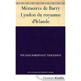 M�moires de Barry Lyndon du royaume d'Irlande