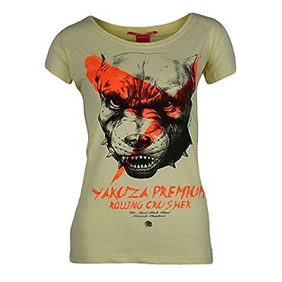Yakuza Premium Damen T-Shirt 1853 hellgelb