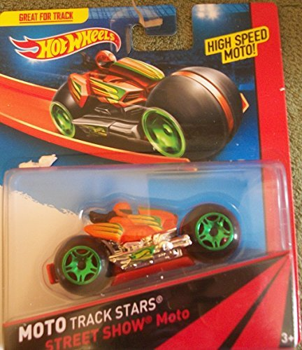 Hot Wheels Moto Track Stars STREET SHOW - 1