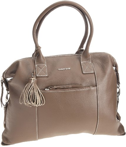 Paquetage Boston Marius, Sac  main - Taupe, Cuir