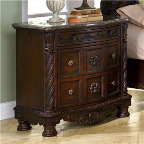 Three Drawer North Shore Night Stand