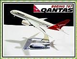 Boeing 787 Qantas Airlines Metal Plane Model 16cm
