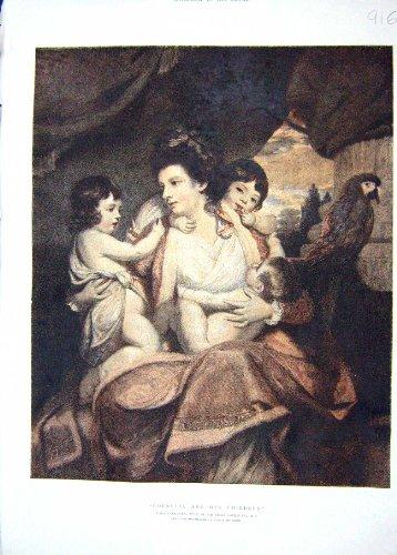 retrato-1895-de-los-ninos-de-senora-cockburn-sir-james-cornelia