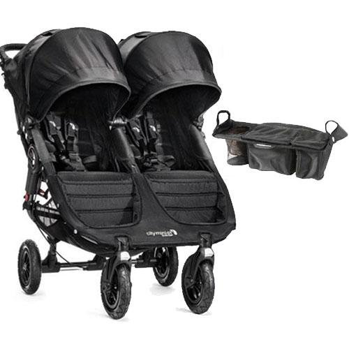 Gt Sport Farming >> Other Baby - Baby Jogger - City Mini GT Double Stroller with Parent Console - Black Black was ...