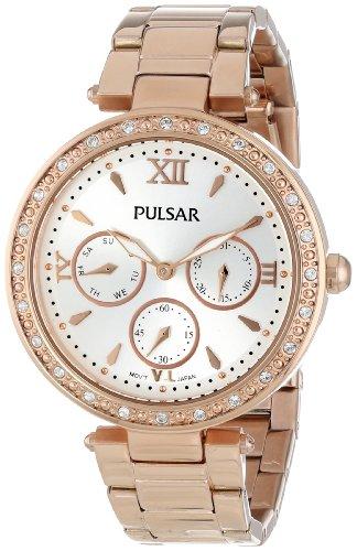 Pulsar Bracelet Silver-Tone Dial Women's Watch #PP6104