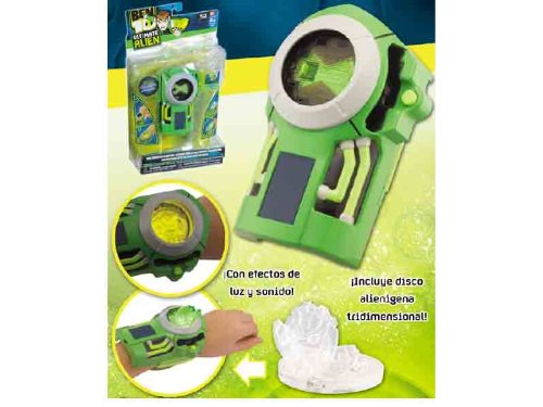 Ben 10 Ultimate Alien Disc Alien Ultimatrix