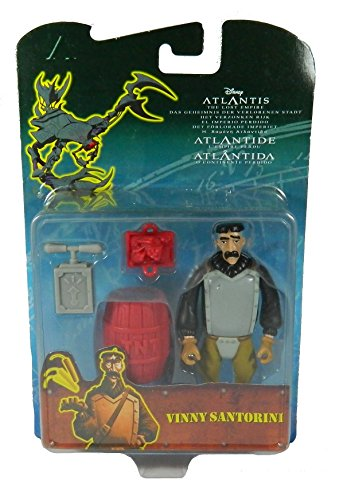 Toys Disney Atlantis The Lost Empire Vinny Action Figures