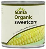 Suma Organic Sweetcorn 340 g (Pack of 12)