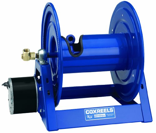 "Coxreels 1125-5-200-Ea Electric 115V Explosion Proof 1/2Hp Motor Rewind Hose Reel: 3/4"" I.D., 200' Hose Capacity, Less Hose, 3000 Psi"