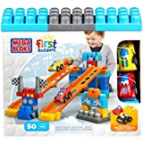 Mega Bloks - 81266 - Jeu De Construction - First Builders - Piste De Course Fast Tracks - 50 Pièces