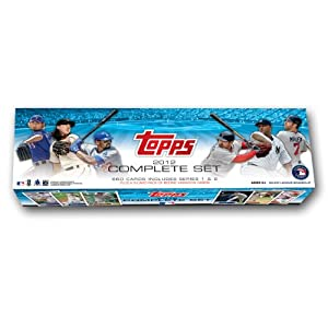 MLB  2012 Topps Baseball Retail Card Factory Set