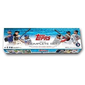 MLB  2012 Topps Baseball Retail Card Factory Set