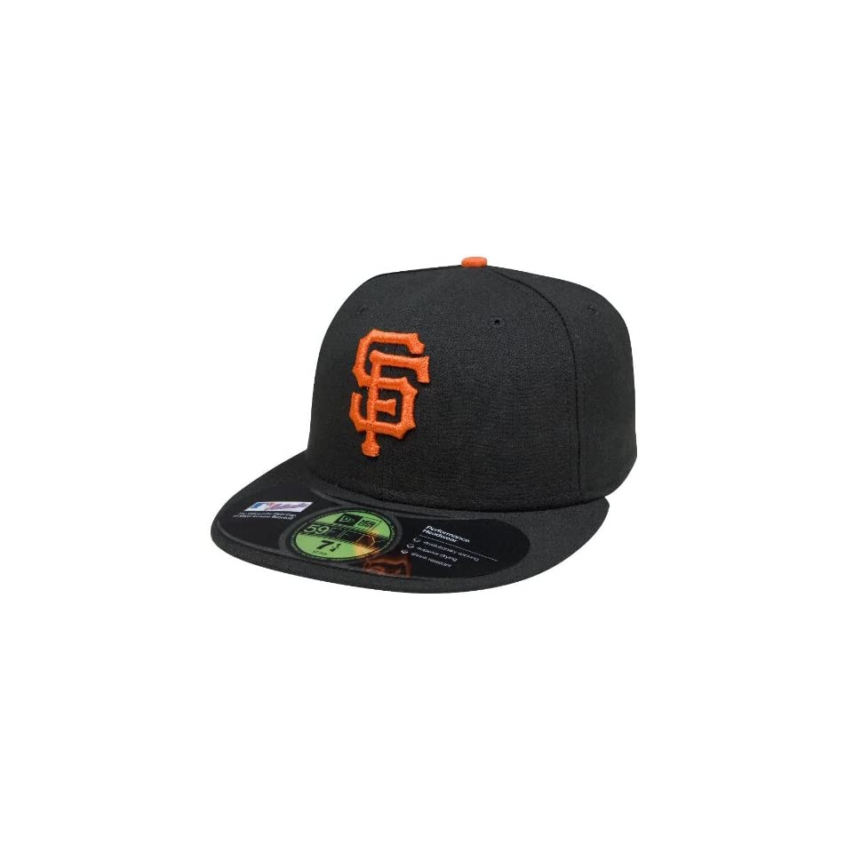 MLB San Francisco Giants Authentic On Field Game 59FIFTY Cap (Black