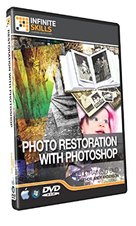 Learning Photo Restration With Photoshop - Training DVD - 5 Hours of Tutorial Videos
