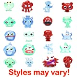 Moshi Monsters Winter Wonderland Moshling Collectable Figures Value Set of 10 (Guaranteed 1 Ultra Rares In Every Pack)