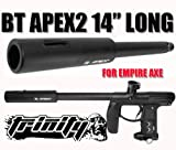 Bt Apex 2 System Barrel for Empire AXE Paintball Gun, Empire AXE GUN Apex2 Barrel,14
