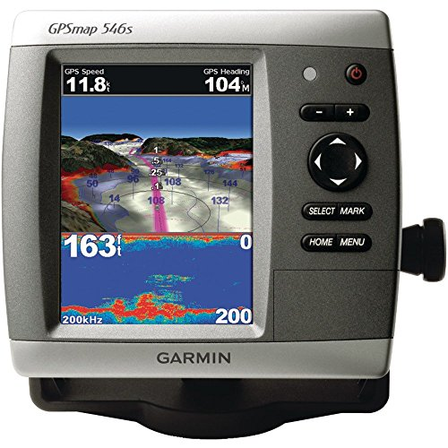 Garmin GPSMAP 546s Marine GPS Receiver with Dual-Frequency Transducer