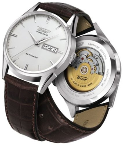 Tissot Visodate Automatic Silver Dial Mens Watch T0194301603101