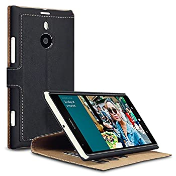 3. Nokia Lumia 1520 Low Profile Faux Leather Wallet Case with Viewing Stand