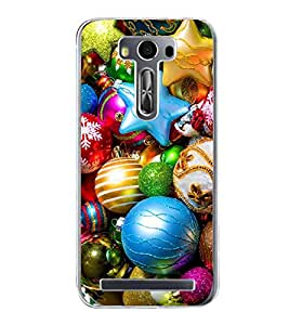 Colourful Golden Goodies 2D Hard Polycarbonate Designer Back Case Cover for Asus Zenfone Selfie ZD551KL