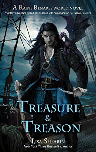 treasure-and-treason-a-raine-benares-world-novel-english-edition
