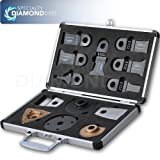 Versa-Tool SBMASTER 13 Piece Master Accessory Collection With Custom Aluminum Case For Use On Rockwell Sonicrafter