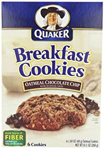 Amazon.com: Quaker Breakfast Cookies Oatmeal Chocolate ... Oatmeal Chocolate Chip Cookies Packaging