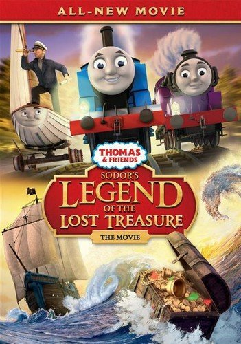 DVD : Thomas and Friends: Sodor's Legend Of The Lost Treasure - The Movie (Snap Case, Slipsleeve Packaging)