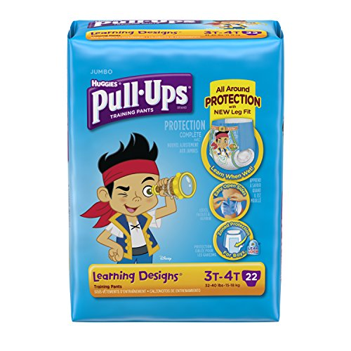 Huggies Pull-Ups Training Pants - Learning Designs - Boys - 3T-4T - 22 ct - 1