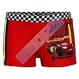 Cars-Boxer de baño Cars Disney rojo infantil-4años, 6años, 8años, 3años rojo 8 años