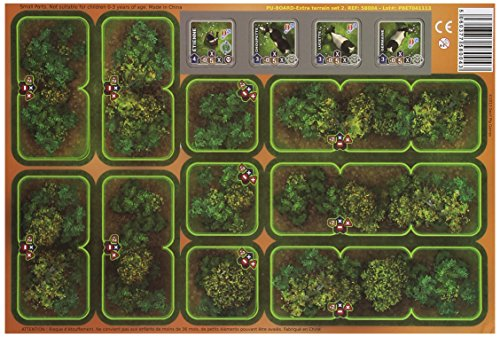 Heroes of Normandie - Extra Terrain Set 2 (Bocage and Cows) Board Game