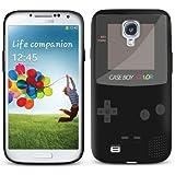 Samsung Galaxy S4 IV i9500 Gel/TPU Black Case - Cool Retro Game Boy Design