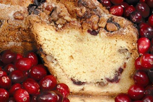 Cape Cod Cranberry Coffee Cake