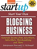 img - for Start Your Own Blogging Business book / textbook / text book