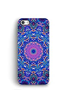 Cover Affair Mandala Printed Back Cover Case for Apple iPhone 5