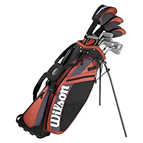 Wilson Ultra Men's Complete Golf Set (10 Clubs + Headcovers and Bag)