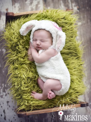 Little Lamb Overalls And Hat Set Knitting Pattern - 4 Sizes Included