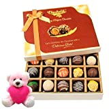 Valentine Chocholik Premium Gifts - Flavourful Chocolates Collection With Teddy