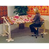"""The American Legacy Full Size Quilt Frame from 48"""" to 90"""""""